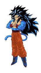 SSJ4-SSB Goku by edvardstas
