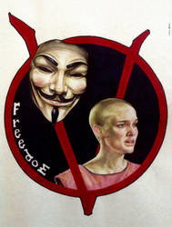 Natalie Portman - V for Vendetta by lucyana12345