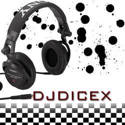 DJ Dicex Logo by Oblivionxx