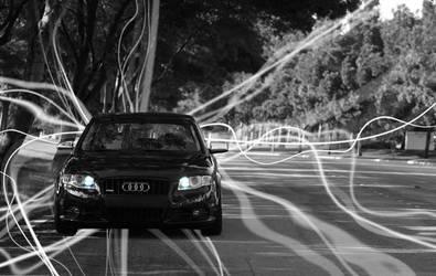 Audi A4 Aura Front by Oblivionxx