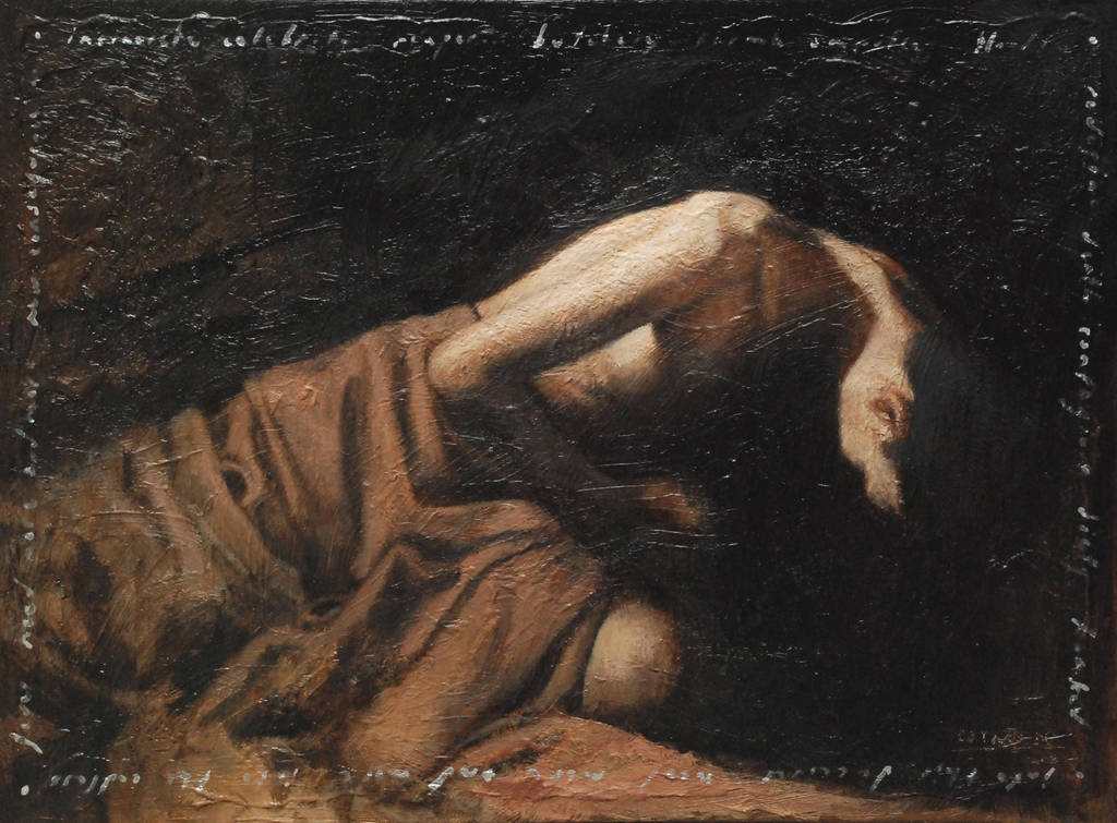 painting study: lazarus by 413