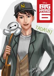 Big Hero 6 Tadashi by noobest