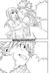 Fairy tail 331 Line by spidyy