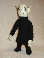 Nosferatu plush by silentorchid
