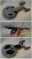 Custom plush - Starship by silentorchid
