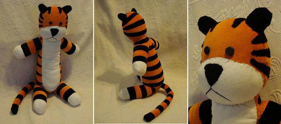 Custom plush - Hobbes by silentorchid