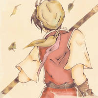 Leader's back by HikariShuyo