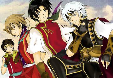 Heroes Meeting by HikariShuyo