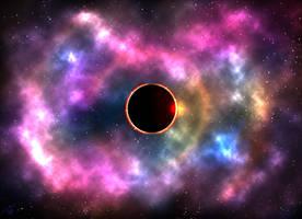 Eclipse in Nebula by shunter071