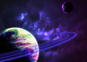 Space Rings by shunter071