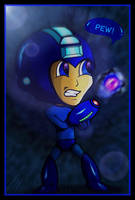 Megaman Charge by shunter071