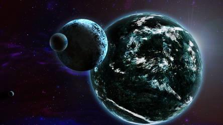 Earth 3 by shunter071