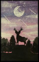 Deer's Night by shunter071