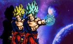 Goku's Transformation by shunter071