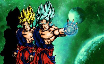 Goku Transform! by shunter071