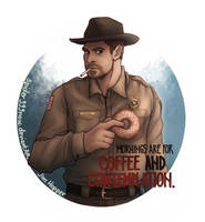 Jim Hopper by spider999now