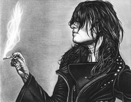 Smokin Badass- Alison Mosshart by JJRRS