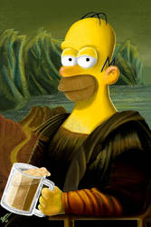 Homer Lisa by sonu9