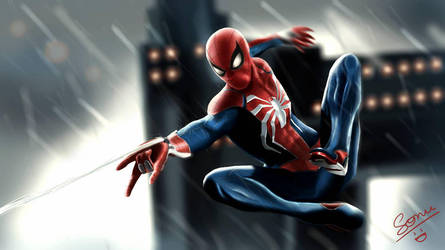 Spider-Man by sonu9