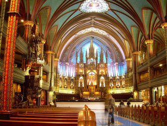 Notre Dame de Montreal by MarteMarie
