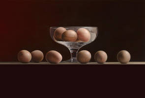 Still Life with Eggs by m-v-c