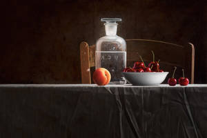 Still Life with Bottle by m-v-c