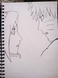 Naruto and Sakura Inked by obsessive-fan-girl