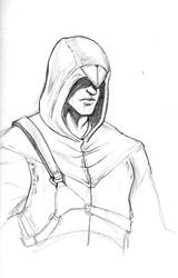 Altair Drawing by Risvani