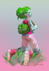 Bulbagirl by milkybee