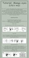 Tutorial: manga eyes by MasterLilith