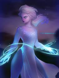 Elsa by Y0Y0Sketch