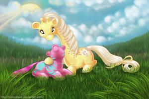 Pony Friends by hollowzero