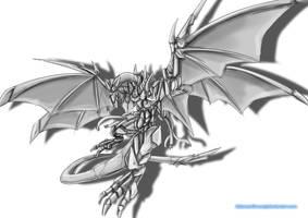 Mechanical Dragon by AdamentSnow