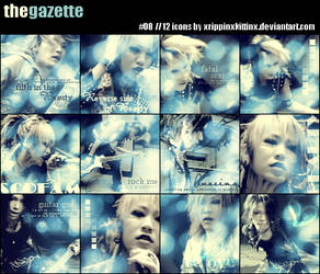 The GazettE - Icon Set08 by xRippinxKittinx