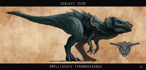 Ampliscate Tyrannosaurus by KamikaziTeddy