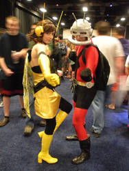 Wasp and Ant Man by owlgirl113