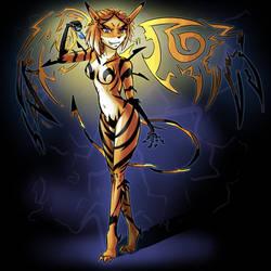 TWEWY Fanart - Tigris Cantus by MOOMANiBE