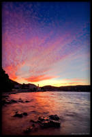 Vis sunset by Lidija-Lolic