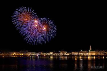 Fireworks by Lidija-Lolic