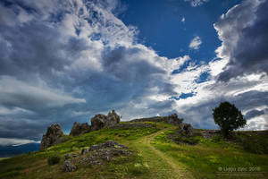 Partly cloudy by Lidija-Lolic
