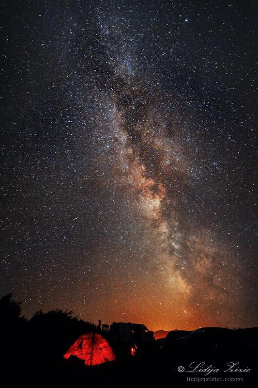 Under the Milky way by Lidija-Lolic