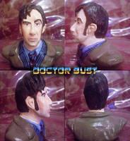 Doctor Minibust by pythonorbit
