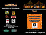 Comedy Festival Pamphlet by pythonorbit