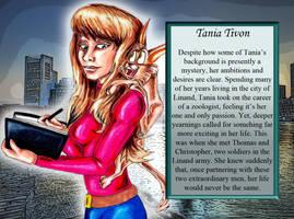 Tania Tivon by pythonorbit