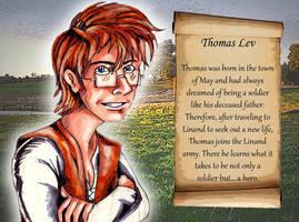 Thomas Lev by pythonorbit