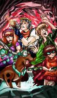 Scooby Doo Apocalypse New Cover by pythonorbit