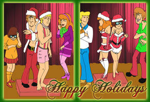 Happy Holidays from the Gang by pythonorbit