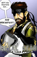 Metal Gear: Egg Beater by pythonorbit