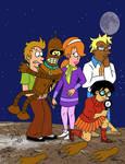 Scooby Doo Futurama by pythonorbit