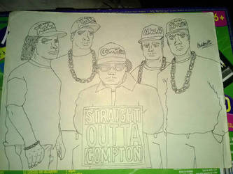 Straight Outta Compton by Ana Smith. by sonicboomgamer